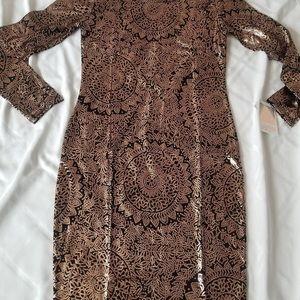 60fec6ff2e LuLaRoe Dresses - Rose Gold Medallion Lularoe Debbie
